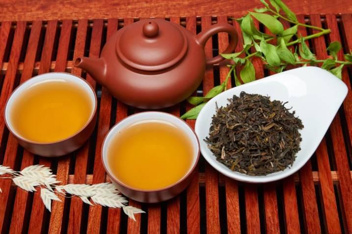 крупнолистовой черный сорт чая дарджилинг