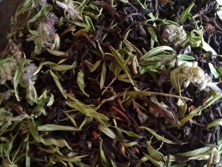 черный чай с чабрецом польза