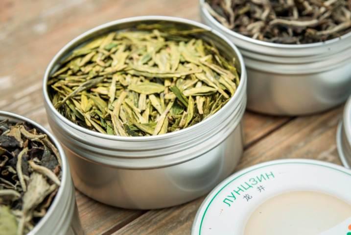 китайский чай лунцзин