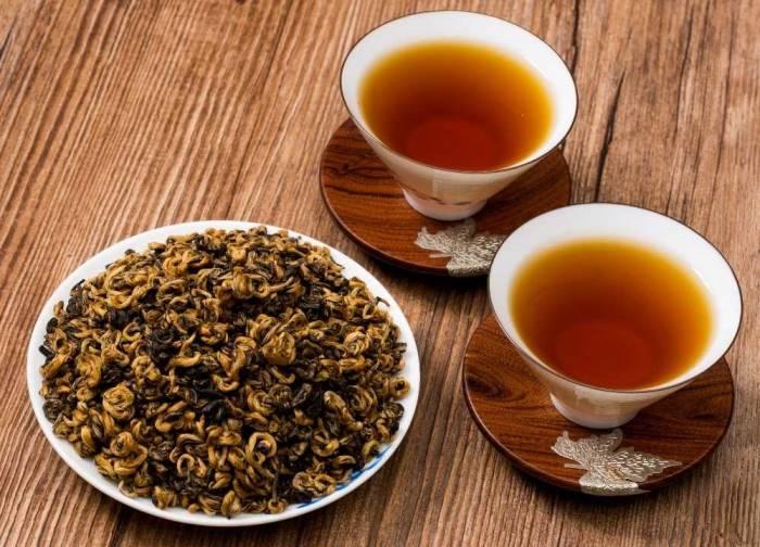 вкус черного чая юньнань