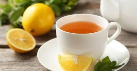 Зеленый чай с лимоном калорийность