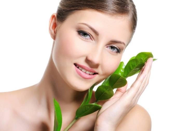 зеленый чай для лица польза