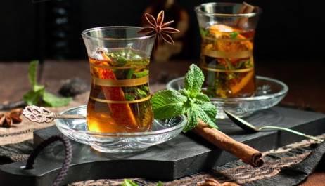 История чая Марокко