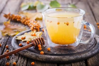 чай с облепихой и медом