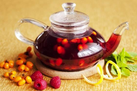 чай облепиха малина
