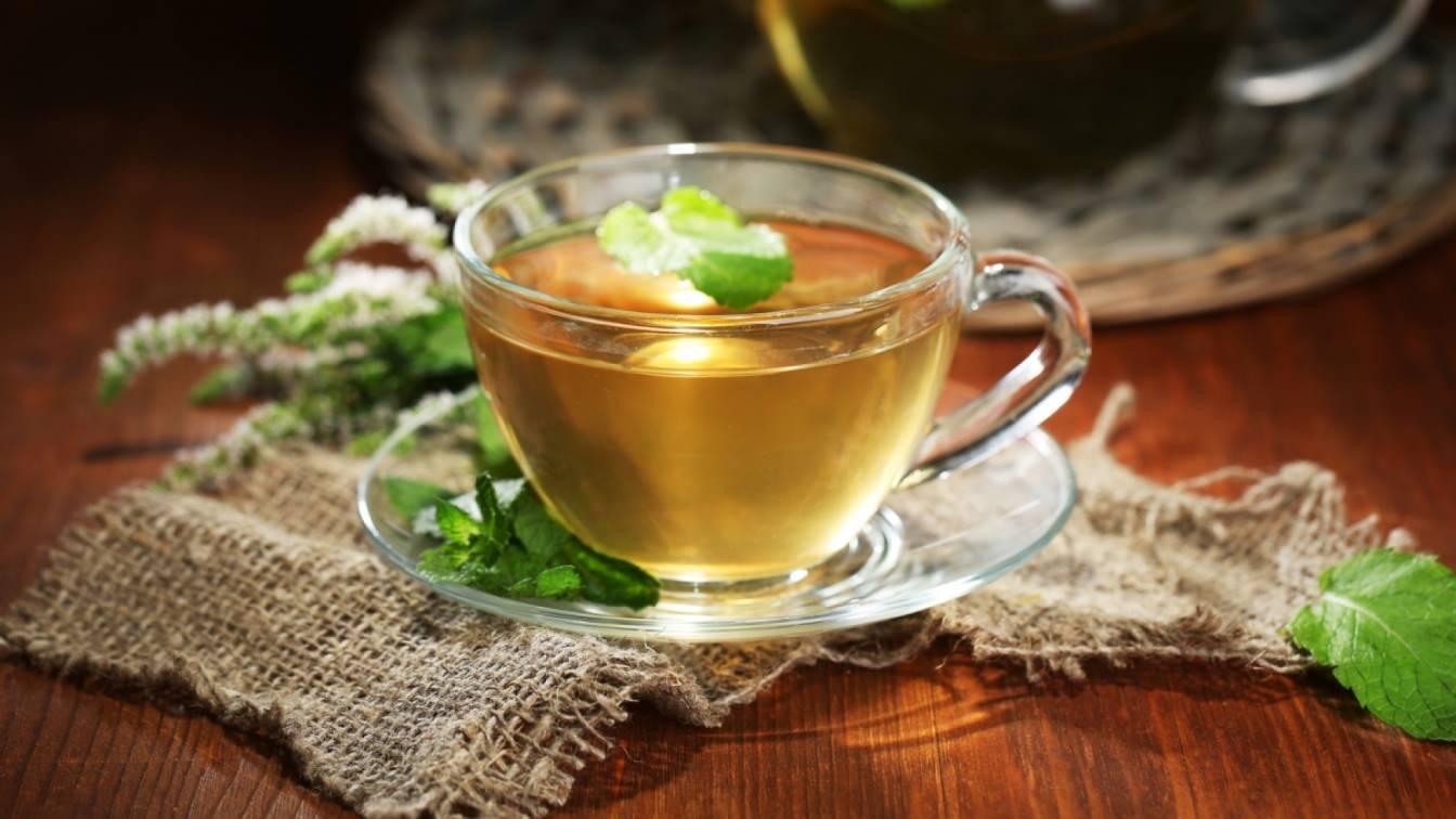 польза травяной чай
