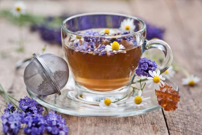 польза чая с лавандой