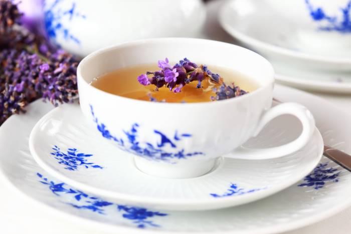 Чай с лавандой - польза и вред
