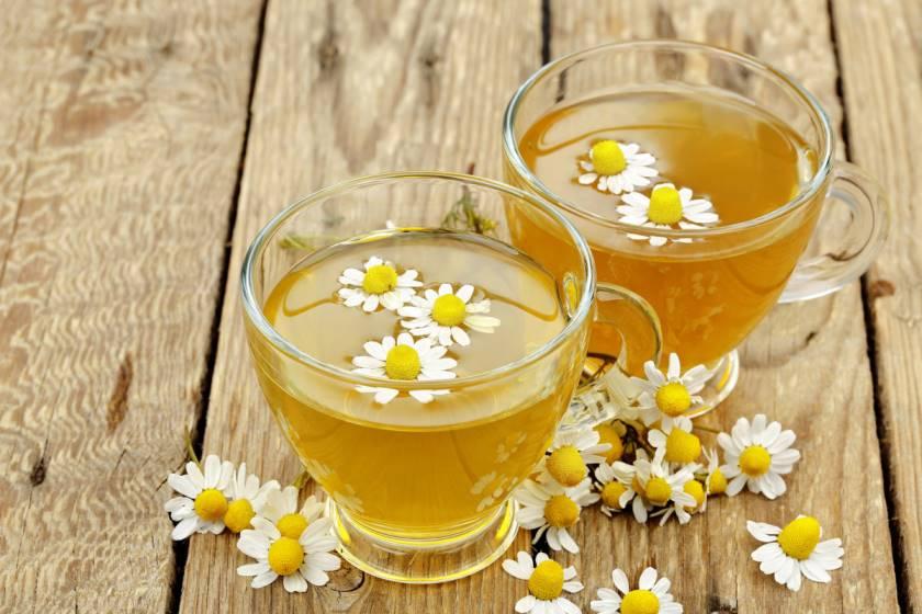 как заварить чай с ромашкой