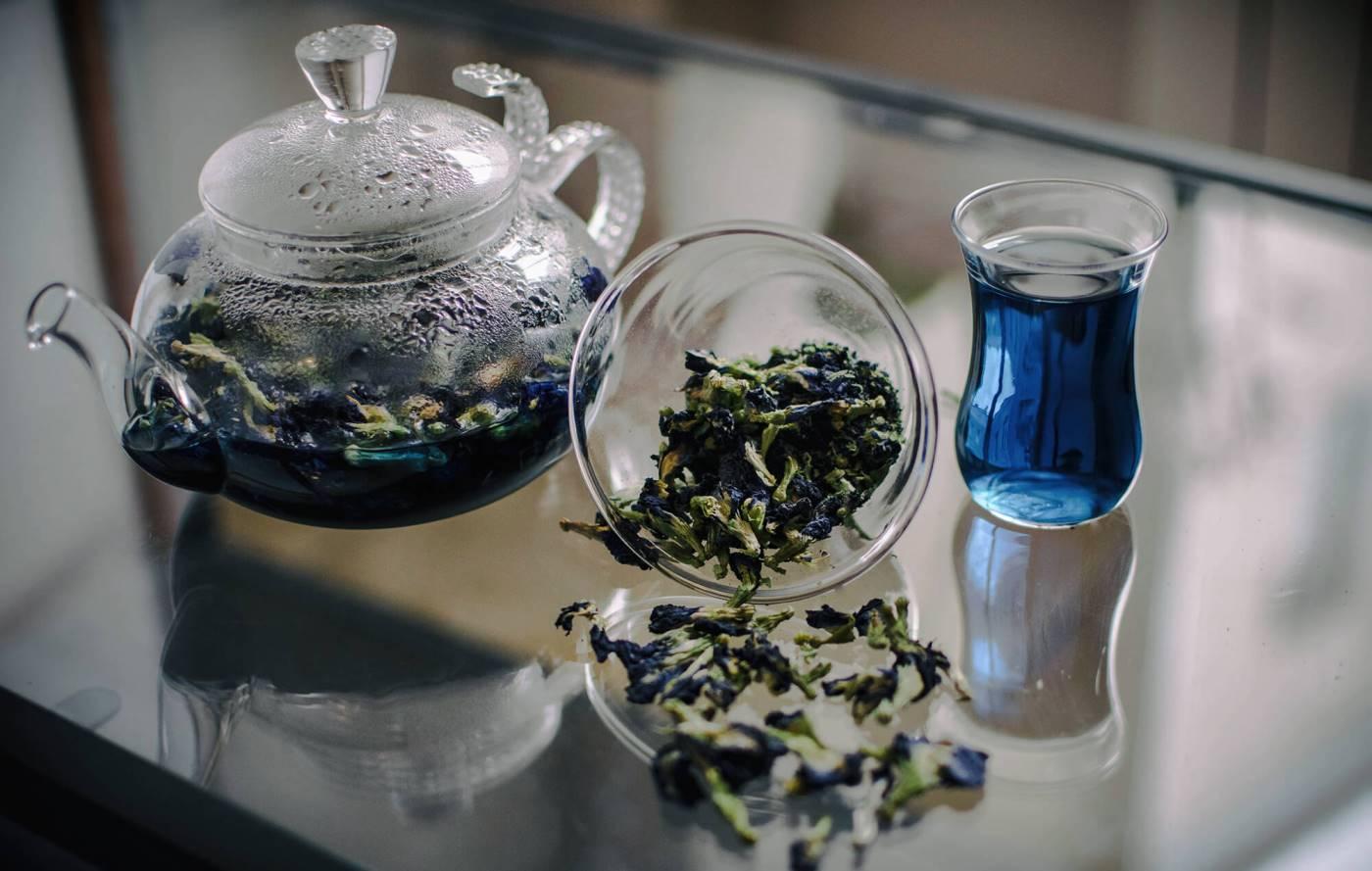 пурпурный чай