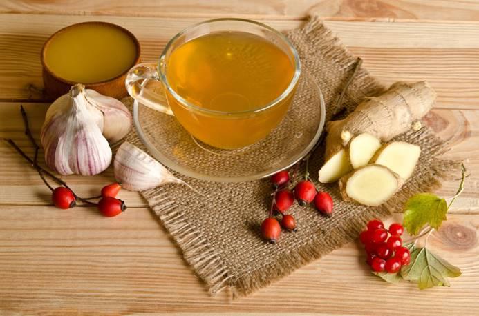 Чай с чесноком - напиток от простуды