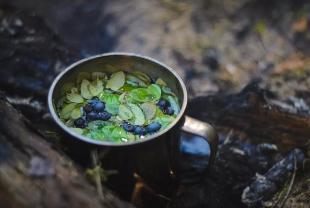 Чай из листьев черники