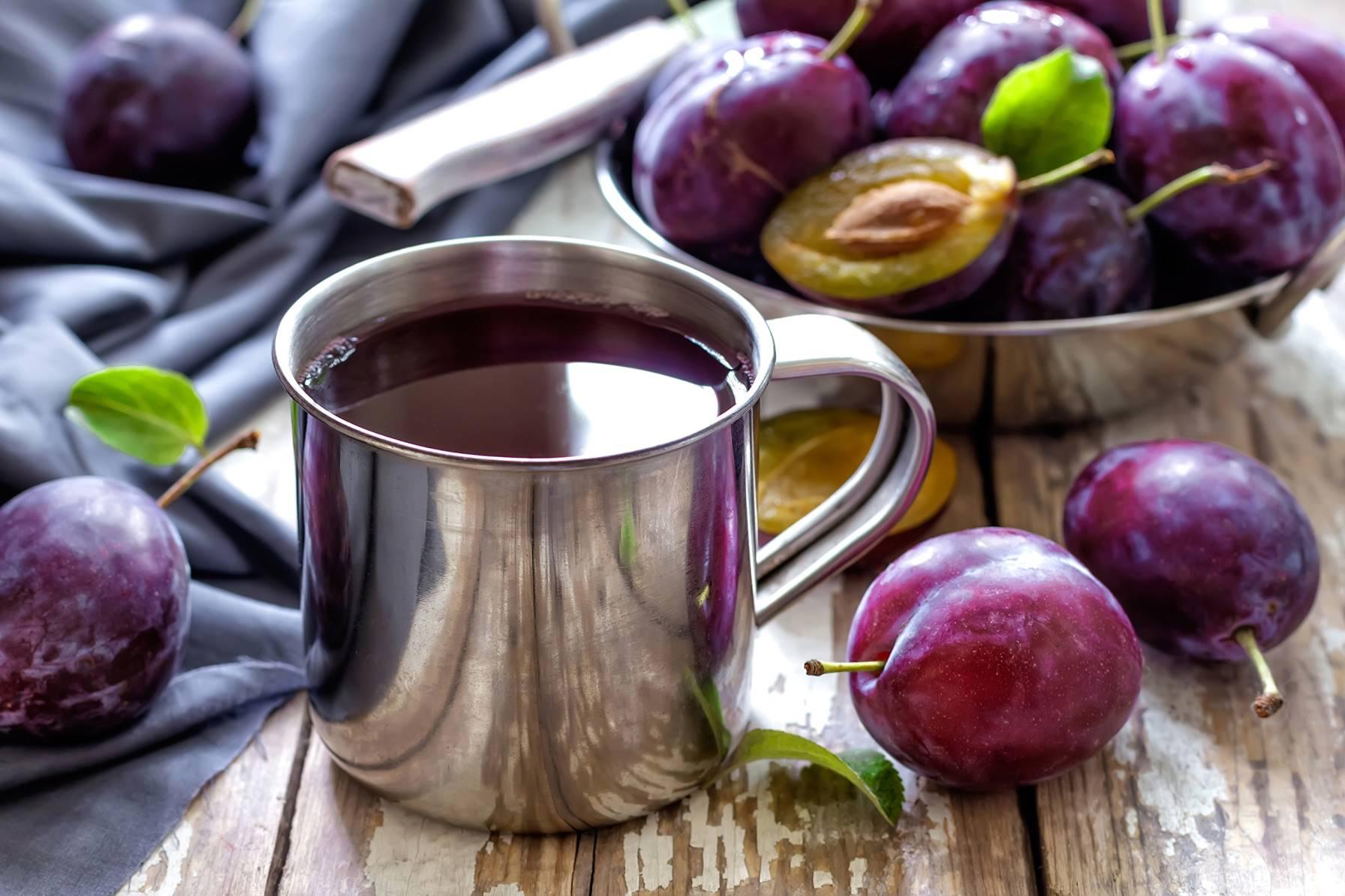 Чай из сливы