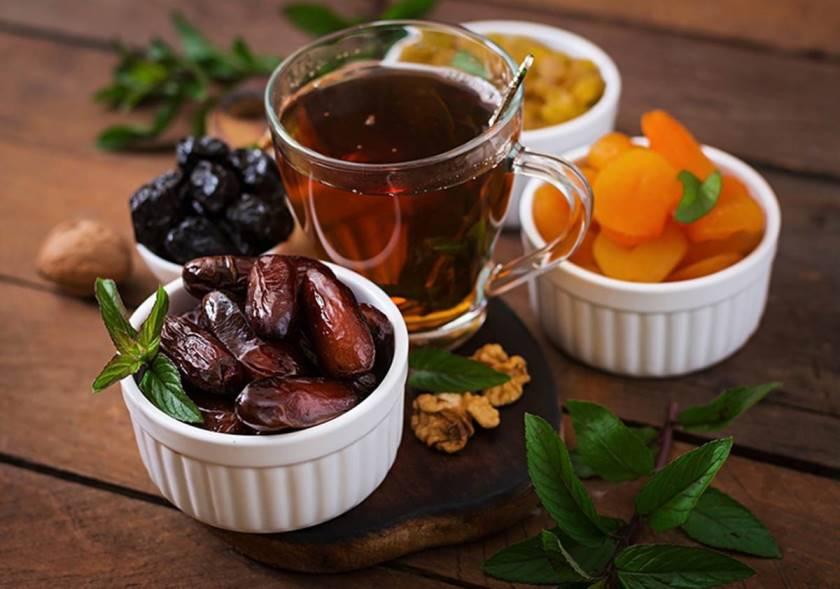 Чай и отвар из фиников