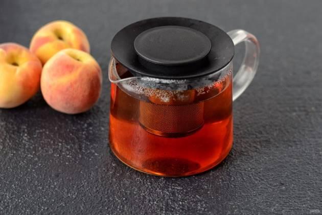 Чай с персиком